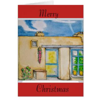 Cartão Natal de Santa Fé