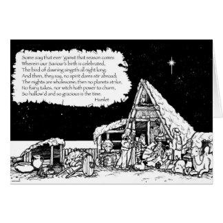 Cartão Natal de Shakespeare