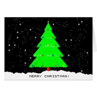 Cartão Natal de ZXSpectrum