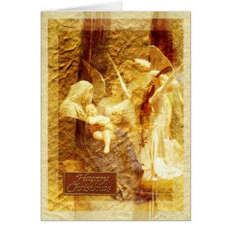 Cartão Natal do amor do anjo
