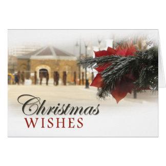 Cartão Natal do beira-rio de Woolwich