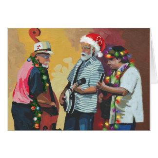 Cartão Natal do Bluegrass