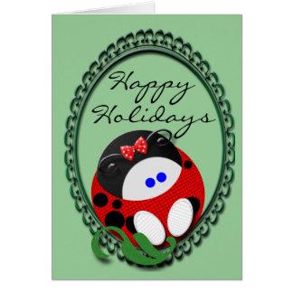 Cartão Natal do joaninha