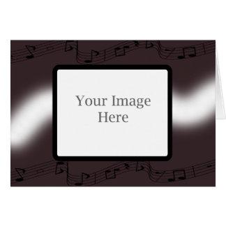 Cartão Natal do Musical da beringela