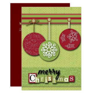 Cartão Natal do primitivo do país de Westsern do