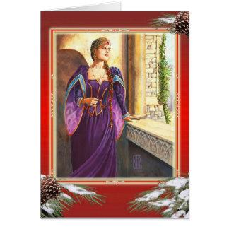 Cartão Natal do renascimento
