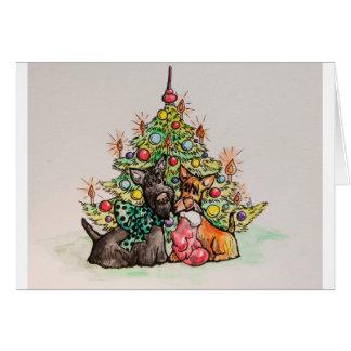 Cartão Natal do Scottie
