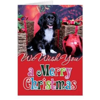 Cartão Natal - Docker - Gigi