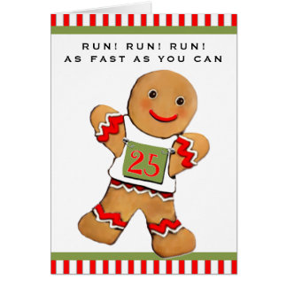 Cartão Natal dos corredores