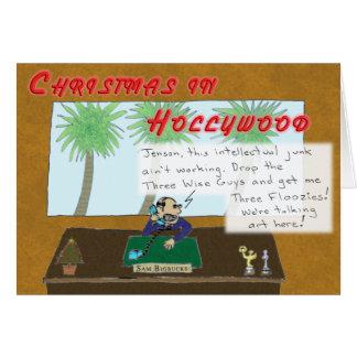 Cartão Natal em Hollywood