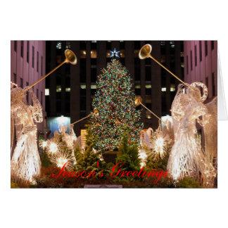 Cartão Natal em New York