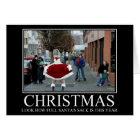 Cartão Natal engraçado