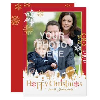 Cartão Natal feliz