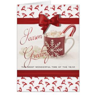 Cartão Natal Holidys, a melhor época do ano