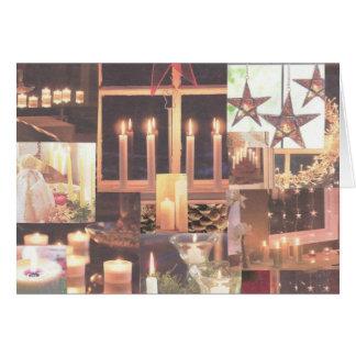 Cartão Natal Homespun
