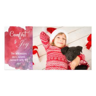 Cartão Natal indicado por letras da foto do roteiro da