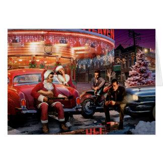 Cartão Natal legendário