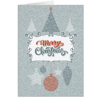 Cartão Natal lunático