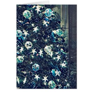 Cartão Natal mágico do oceano