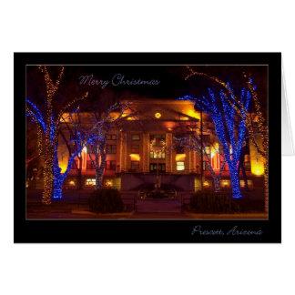 Cartão Natal na arizona do Prescott