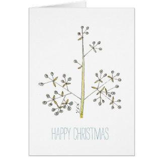 Cartão Natal natural