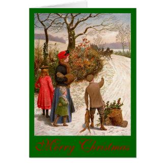 Cartão Natal no país
