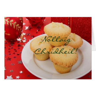 Cartão Natal Nollaig Chridheil