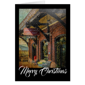 Cartão Natal Notecard da loja de lembranças