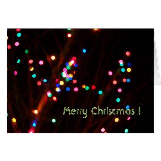 Cartão Natal optimista