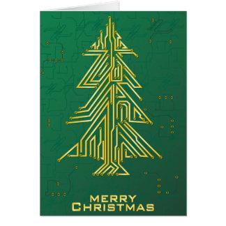 Cartão Natal para geeks