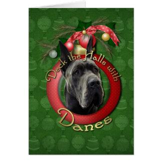 Cartão Natal - plataforma os salões - dinamarqueses -