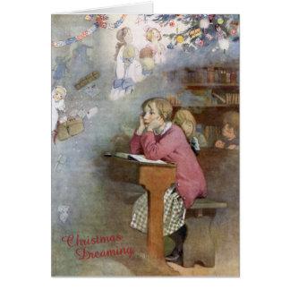 Cartão Natal que sonha - honra C Appleton