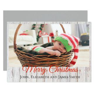 Cartão Natal rústico
