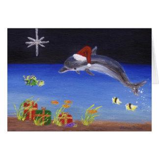 Cartão Natal Splashy alegre