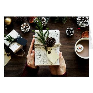 Cartão Natal - um momento da doação