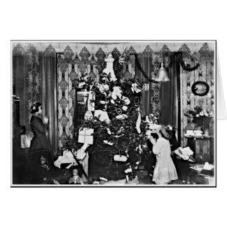 Cartão Natal velho da forma