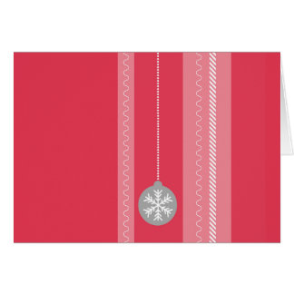 Cartão Natal vermelho