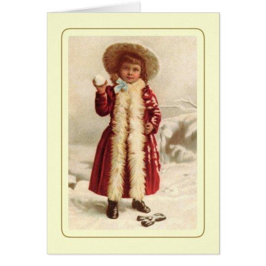 Cartão Natal vintage