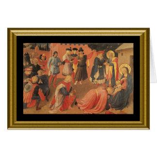 Cartão Natale de Buon - a Oração do senhor no italiano