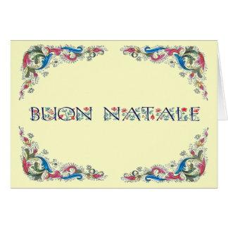 Cartão Natale de Buon - design de Florencia