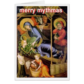 Cartão Natividade de Cthulhu
