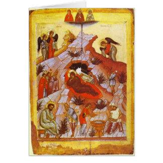 Cartão Natividade do cristo