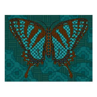 Cartão nativo de Swallowtail