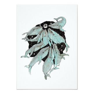 Cartão Navegação da baleia