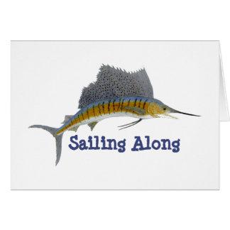 Cartão Navigação do sailfish avante