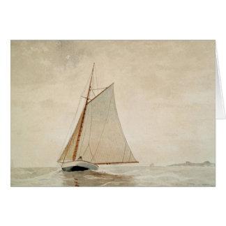 Cartão Navigação fora de Gloucester pela nota de Winslow
