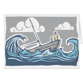 Cartão Navio de naufrágio