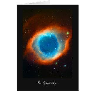 Cartão Nebulosa da hélice na simpatia