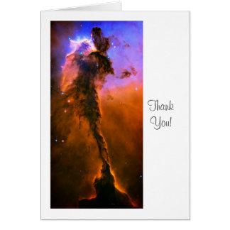 Cartão Nebulosa de Eagle, M16 - dizendo o obrigado você
