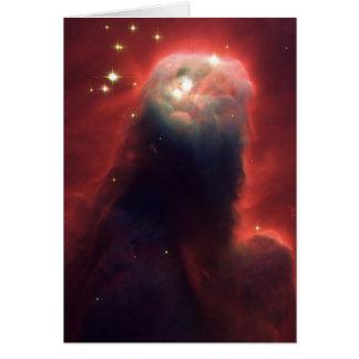 Cartão Nebulosa do cone no espaço NGC 2264